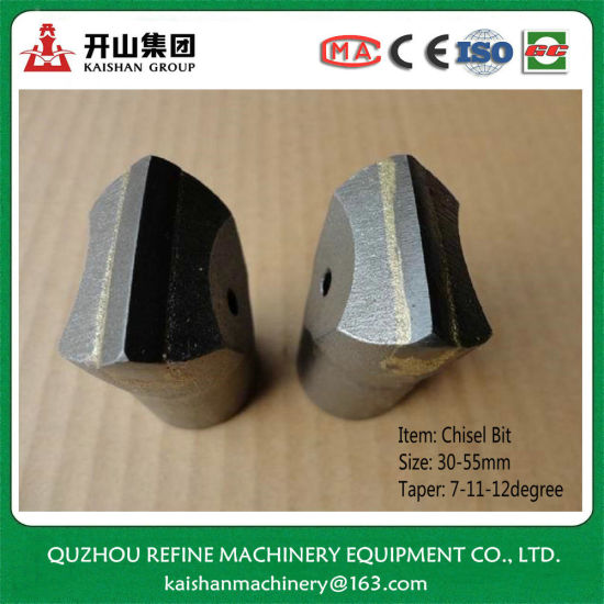 32mm Carbon Steel 7degree Chisel Bit for Rock Drilling Quarry pictures & photos