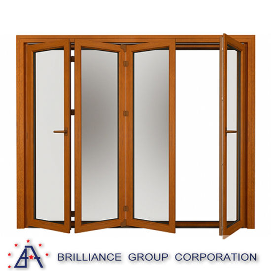 Aluminum Glass Sliding Folding Window pictures & photos