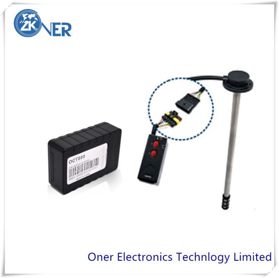 GPS Tracker with Fuel Monitoring System for Tanker, Silo, Truck Fuel Monitoring and Control
