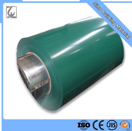Color Coated Galvanized Roofing Material Prepainted Steel Coil
