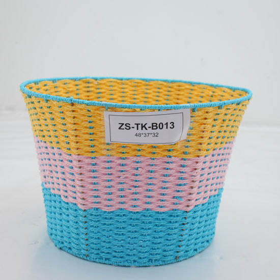 China Crafted Paper String Home Storage Basket Zstk B013 China