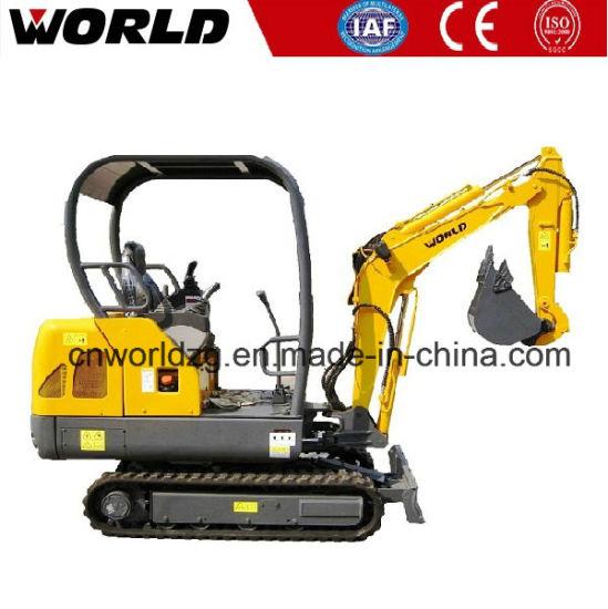 W218 1 8 Ton Kubota Chinese Mini Hitachi Excavator for Sale
