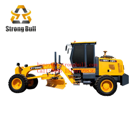 80HP Agriculture Motor Grader with Blade (PY980)