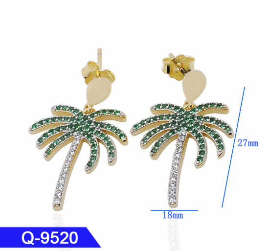 f9ccd66aa Hotsale Handmade 925 Sterling Silver Fashion Jewelry Multicolor Zircon Stone  Long Earrings for Women. Get Latest Price