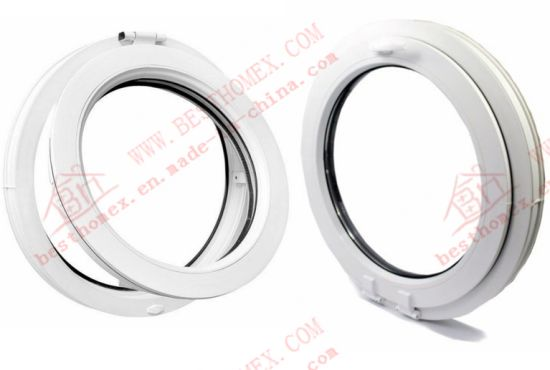 Professional Manufacturer of PVC Circular Casement Window (BHP-RW07) pictures & photos