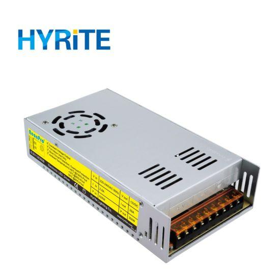 Hyrite 12V 350W Indoor LED Power Supply for LED Signage