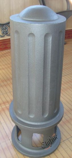 Ductile Iron Casting Bollard with Black Painted pictures & photos