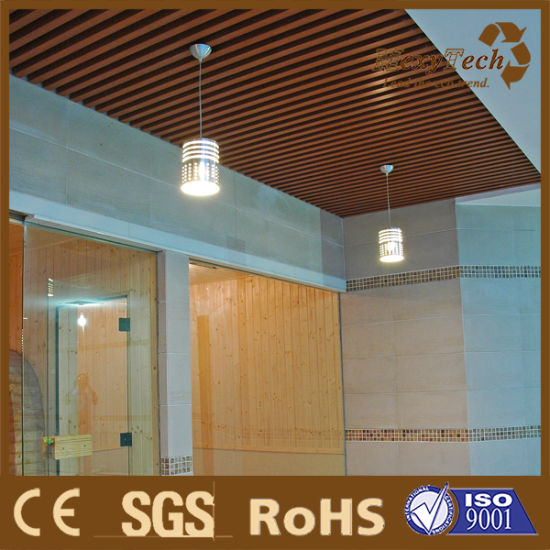 China Innovation Hotel Balcony WPC Ceiling Material Fire ...
