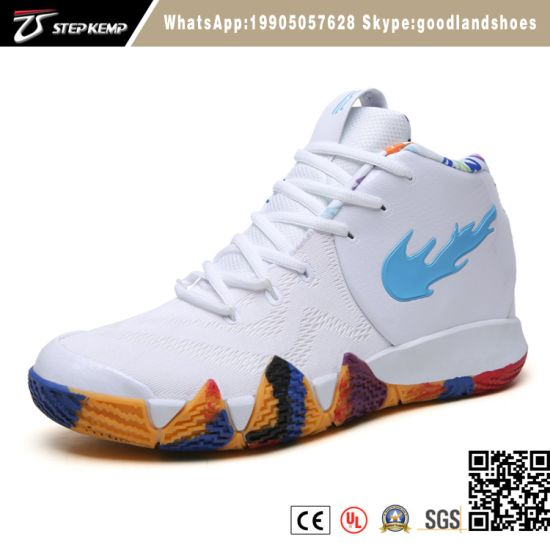 2019 Hot Men's Fashion Sports Sneakers High Top Basketball Shoes 6013