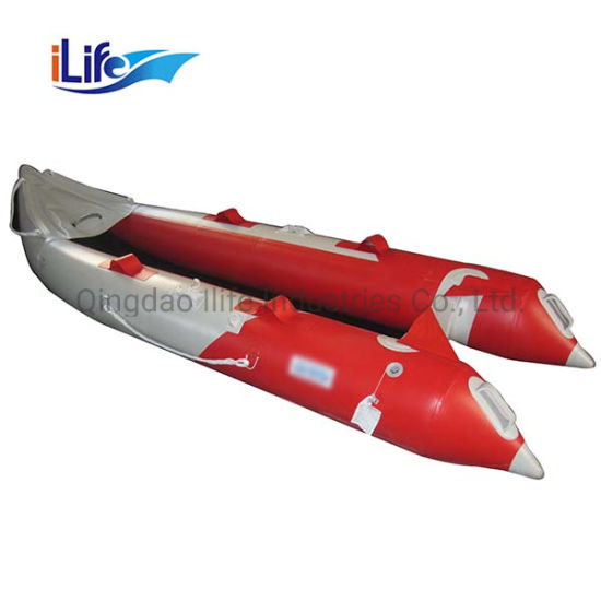 China Ilife Fishing Single Kayak Sit on Top Boat PVC