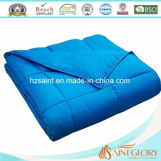 Hot Sale Polyester Comforter /Synthetic Quilt pictures & photos