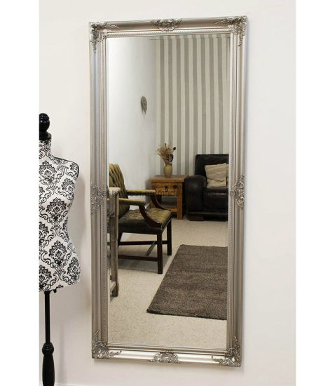 China Ornate Full Length Large Wooden Gold Floor Framed Mirror China Mirror Wall Mirrors