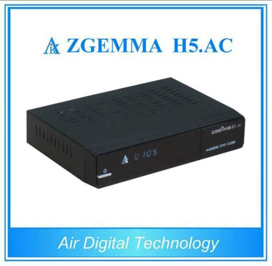 Linux OS Hevc/H. 265 DVB-S2+ATSC Tuners Zgemma H5. AC Satellite TV Decoder for America/Mexico Channels pictures & photos