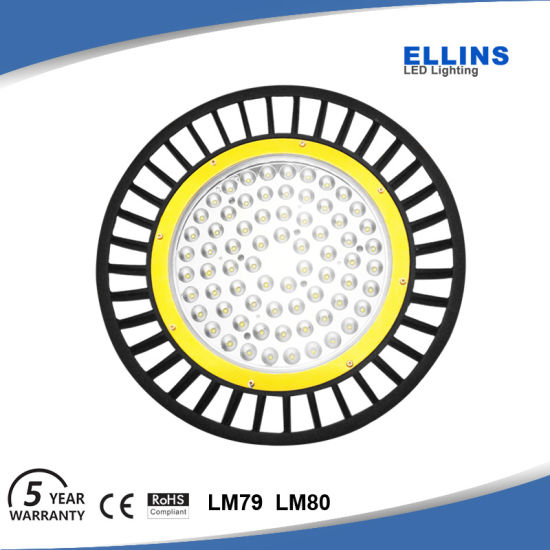Waterproof IP65 UFO 100W LED High Bay Light 130lm/W pictures & photos