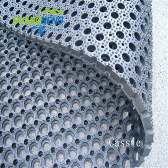 China Boat Anti-Slip Rubber Kitchen Rubber Mat / Anti