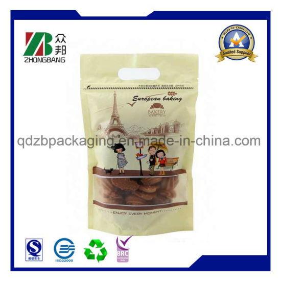 Stand up Plastic Soft Snack Food Packing with Zipper pictures & photos