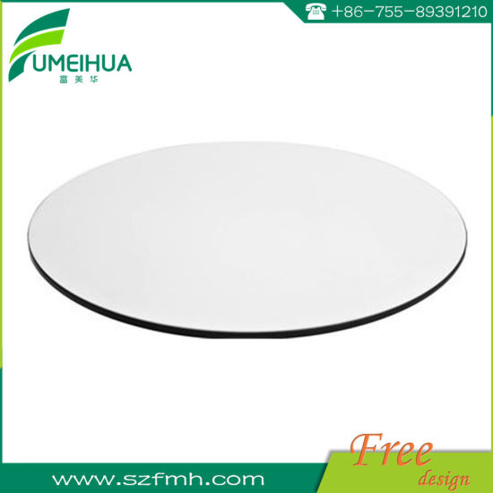 China 12mm White Round Phenolic Resin
