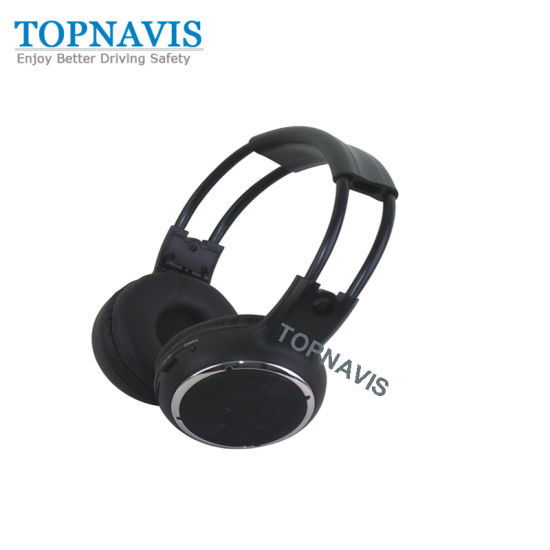 Car Dual Channel IR Wireless Headphone