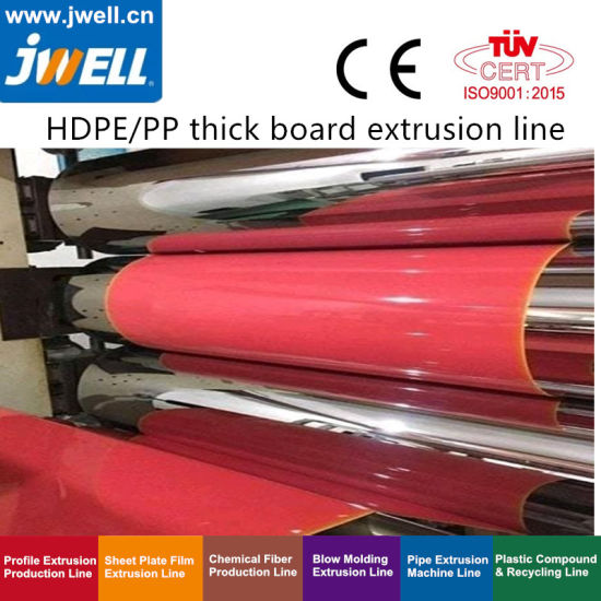 PP / HDPE Thick Board Extrusion Equipment