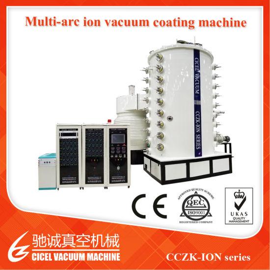 Decorative Stainless Steel Sheet, Pipe Vacuum Metallizing Plant