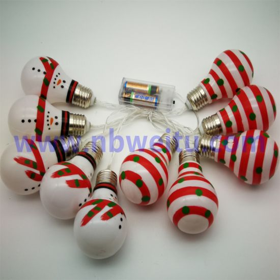 Factory Wholesale Christmas Decoration 3W Waterproof LED Bulb String Light