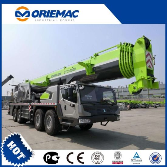Zoomlion Construction Machinery 100 Tons Hydraulic Hoist Mobile Truck Crane Ztc1000V653 pictures & photos