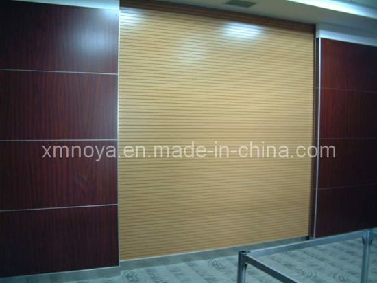 Fireproof Acoustic Sound Absorption Wooden Panel for Wall Decorative