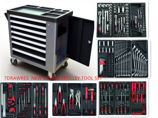 Professional 228PCS Heavy Duty Trolley Tool Set (FY228A2) pictures & photos