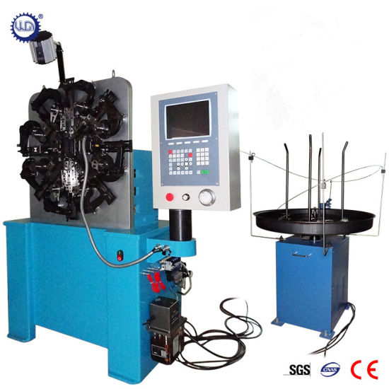 3-4 Axes Automatic CNC Metal Wire Extended Hook Spring Forming Machine (GT-SF-20B)