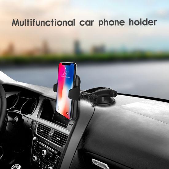 Wholesale Car Phone Holder 360 Degree Car Cup Phone Holder Car Windshield/Dashboard Mobile Phone Holder