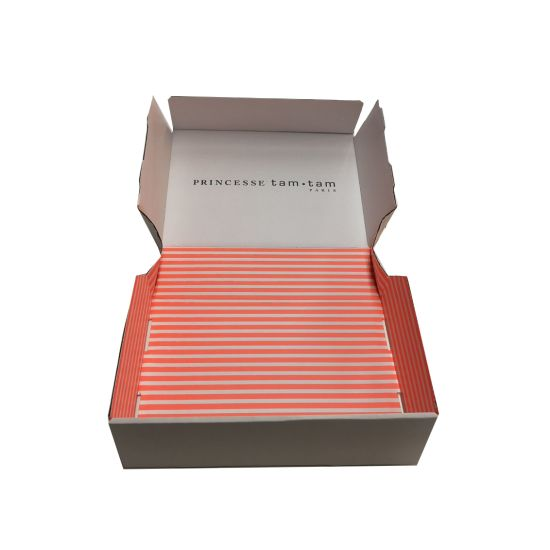 Hot Custom Design Clothes T-Shirt Packaging Boxes with Logo