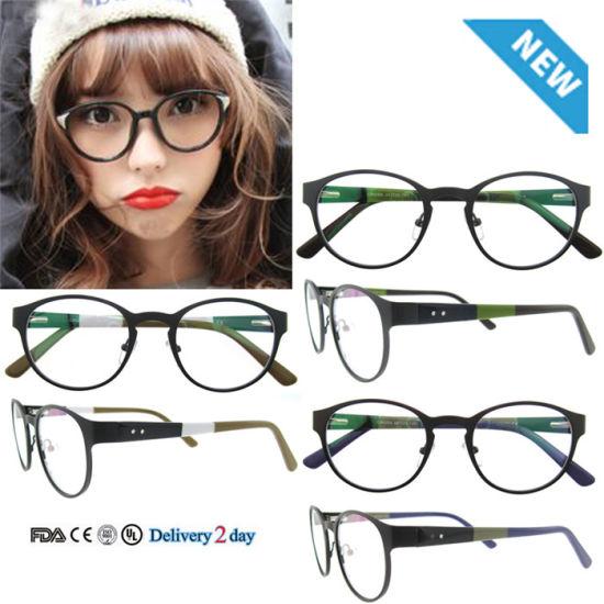 f1c8d7930b5 China Round Frames Custom Metal Frame Fashion Optical Glasses ...