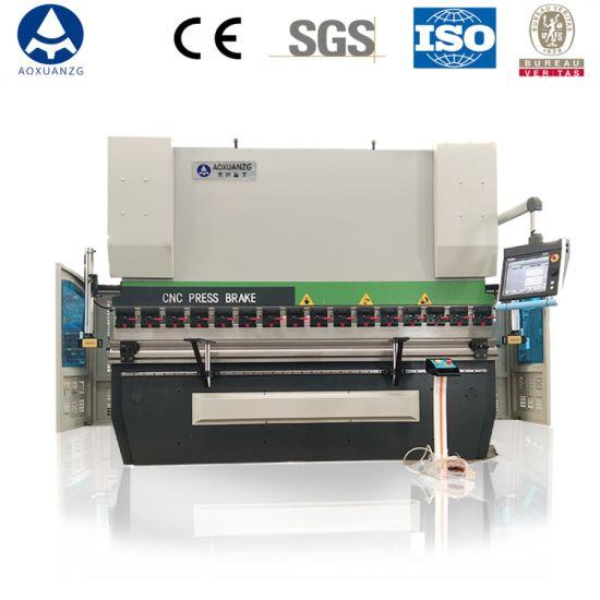 We67K-200t/3200 Hydraulic Press Brake 4+1 Axis Bending Machine with Da66t Delem Controller