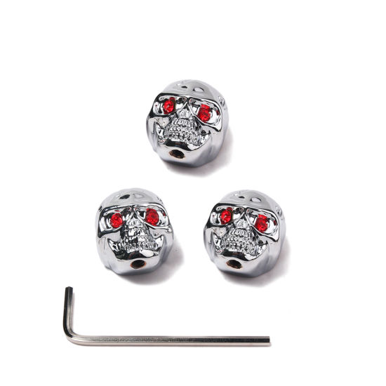 Electric Guitar Bass Control Knobs Buttons Skull Knobs Guitar Accessories