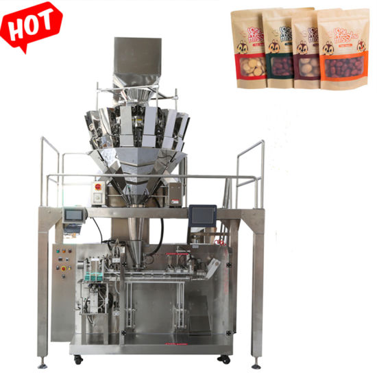 Peanuts/Nuts/Seeds/Melon Seeds/Sunflower Seeds Automatic Filling and Sealing Packing Machine