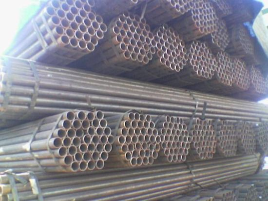 Tianjin Youfa Factory ERW Steel Pipe pictures & photos