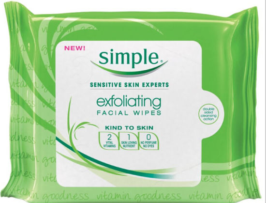 Facial Wipes and Makeup Remover Wet Wipes