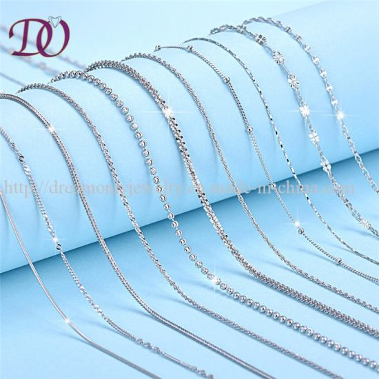 China Factory Directly fashion Italian 925 Sterling Silver