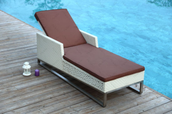 Factory Price Outdoor Hotel Furniture Leisure Rattan Lounge