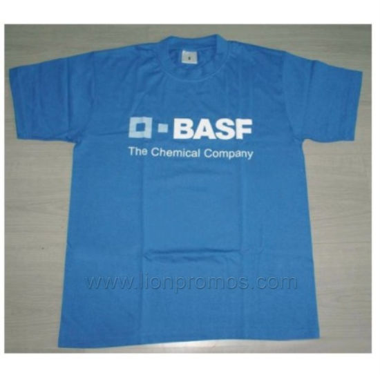Custom Logo Printed Promotional 160gsm Cotton Short Sleeve T Shirt