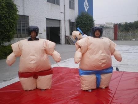 Funny Sports Game Inflatable Sumo Suit (MC062) pictures & photos