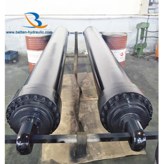 Custom Design Telescoping Hydraulic Cylinders for Dump Truck