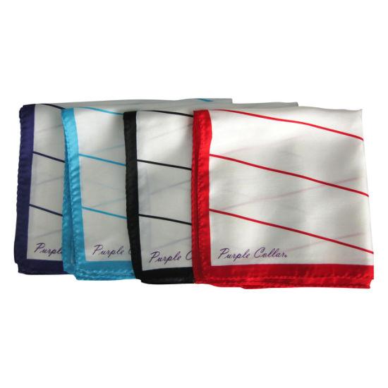 Latesr Fashion Design Pures Silk Lady Scarves (9016)