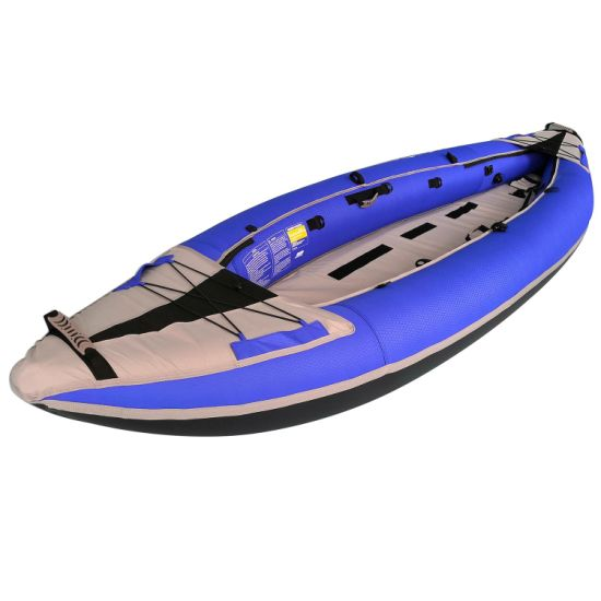 New Design Structure Fishing Boat Yacht Inflatable Rib Double Person Kayak