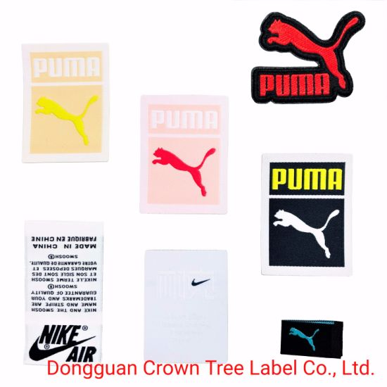 High Quality Woven Label with Laser Cutting for Garments Accessories Iron on Clothes