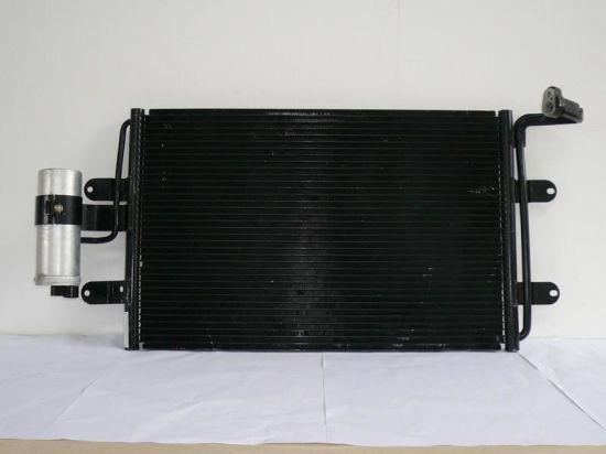 Black Aluminum Auto A/C Car Condenser for Car
