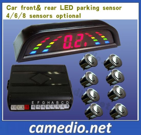 Car Reversing Sensor Parking Assistant Back View with LED Digital No Display pictures & photos