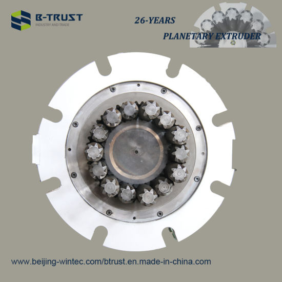 Planetary Roller Extruder with High Quality Screw and Barrel for German Extrusion