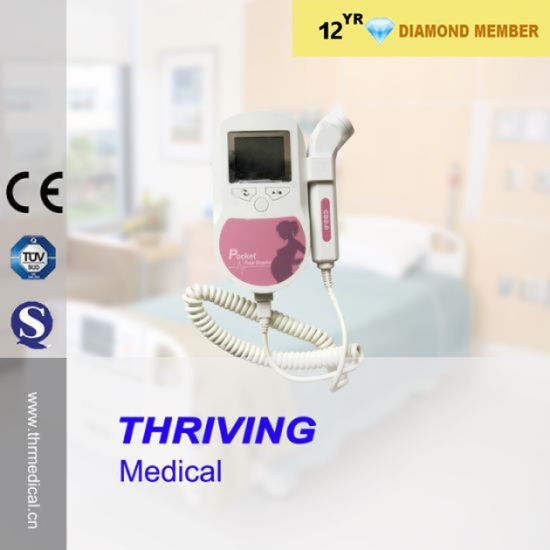 Medical Pocket Fetal Doppler (THR-FD002C) pictures & photos