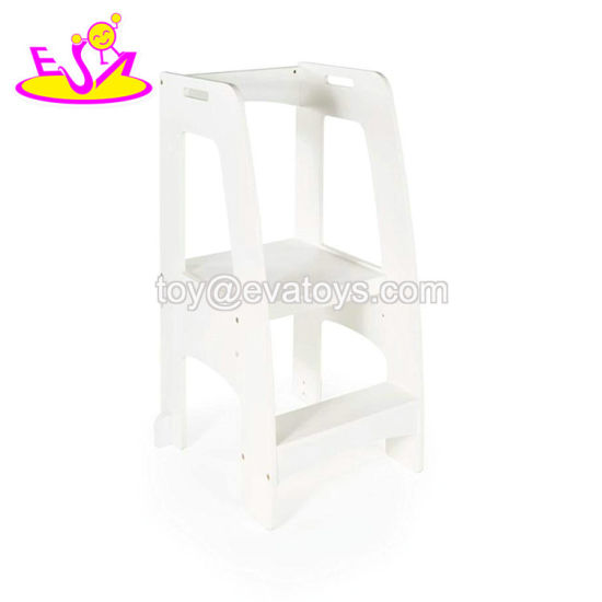 Wooden Ladder Stool For Kids W08g280
